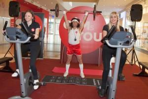Mario  Petreković  demonstrirao kako će izgledati vježbanje u Gyms4you