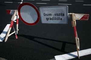 Privremena regulacija prometa  Zlatarska ulica (Sesvete)