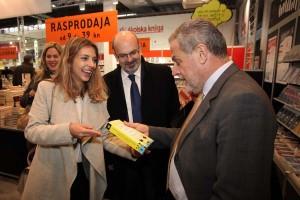 Gradonačelnik Bandić otvorio 39. sajam knjiga i učila Interliber i Infogamer
