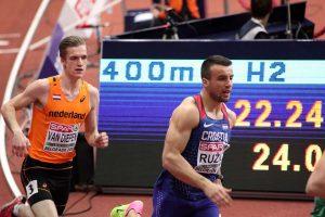 EP ATLETIKA BEOGRAD: Mateo Ružić bez polufinala na 400 metara