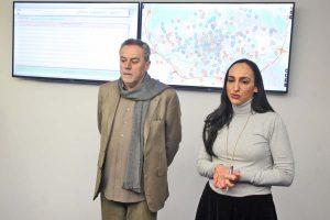 Predstavljevna platforma za komunikaciju gradskih službi