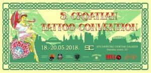 Hrvatska Tattoo Konvencija 2018., sajam tetoviranja i opreme