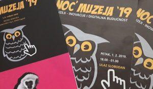 Muzeji – inovacije i digitalna budućnost, tema je četrnaestog izdanja Noći muzeja