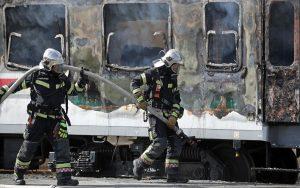 Ugašen požar na Glavnom kolodvoru u Zagrebu