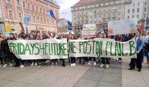 U petak globalni prosvjed za klimu u Zagrebu, Osijeku, Rijeci i Splitu