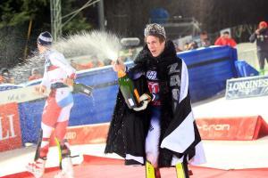 Zagreb, Sljeme 04.01.2020.- Clement NOEL, Snježni kralj 2020.Foto Mario ÆUŽIÆ