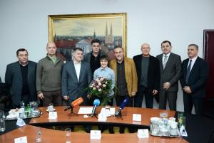 Izaslanstvo Zagrebačkog karate saveza kod gradonačelnika
