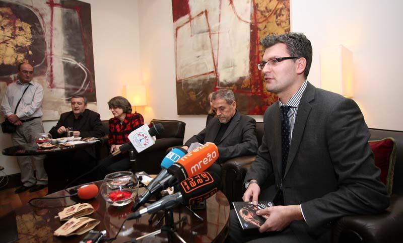 Konferencija za medije uoci koncerta Leonidasa Kavakosa