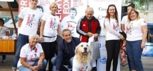 Humanitarna prodaja majica za 14. Terry Fox Run