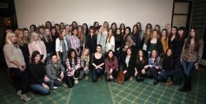 FOTO: 80-ak djevojaka želi hostesirati na PBZ Zagreb Indoorsu