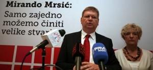 MIRANDO MRSIĆ: Sadašnji predsjednik kriv je za sve