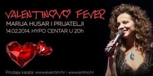 Marija Husar i prijatelji na Valentinovo Fever