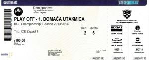 KHL: Ekskluzivna prodaja prvih 1000 ulaznica za Medveščakove play off utakmice