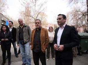 FOTO: Bandić u obilasku Gradske četvrti Maksimir