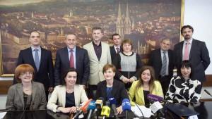 FOTO: U Gradskoj upravi potpisan sporazum o samozapošljavanju