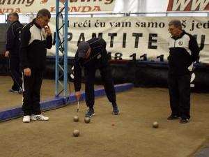 Prvi turnir boćarskog  kluba HVIDR-a Trešnjevka