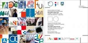 """U Muzeju za umjetnost i obrt 11. 12.  otvorenje izložbe """"Boris Ljubičić: Kvadrat i krug"""""""