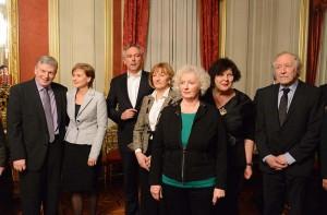 Novogodišnji prijem za novinare zamjenice gradonačelnika i predsjednika Skupštine