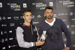 Borna Ćorić dobio nagradu od ATP-a kao najmlađi igrač među prvih 100 tenisača svijeta!