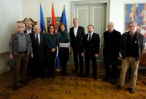 Darinko Kosor primio potpisnike inicijative 555+ za osnivanjem Gradskog ureda za kulturu