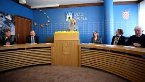 Dan narcisa 21. ožujka na Trgu bana Jelačića