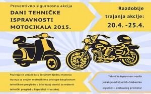 AUTOKLUB SIGET: Dani tehničke ispravnosti motocikala 2015.
