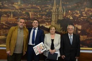 Izaslanstvo europskog udruženja umirovljeničkih stranaka kod Gradonačelnika