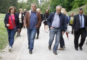 Maksimir spreman za proslavu Međunarodnog praznika rada