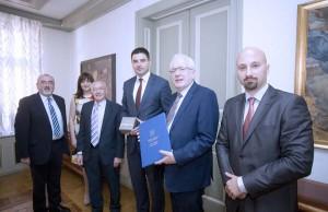 Potpredsjednik Skupštine Bernardić primio izaslanstvo grada Lisburna, Sjeverna Irska