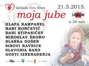 Humanitarni koncert Zaklade Nora Šitum u Lisinskom