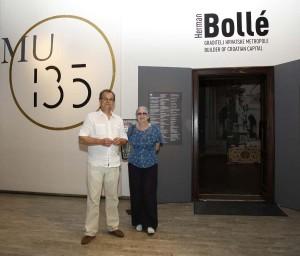 MUO: Umirovljenica iz Zagreba desettisućita posjetiteljica izložbe Herman Bollé