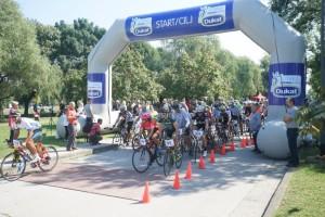 Mali i veliki biciklisti u utrci Zdrava navika