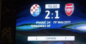 Zagreb, 16.09.2015 - Utakmica 1. kola Lige prvaka, Dinamo - FC Arsenal na stadionu u Maksimiru.  Foto: Mario CUZIC/ZNA.HR