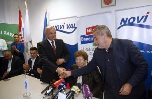 Bandić i Jurčić potpisali sporazum o političkoj suradnji