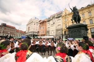 Dani Slavonije na Trgu bana Jelačića