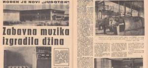 Prije 52 godine puštena u pogon tvornica gramofonskih ploča Jugotona!