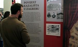 U HNK-u Zagreb otvorena izložba o povijesti nacionalnog kazališta