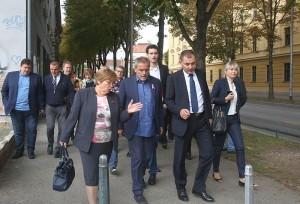 Gradonačelnik obišao tri lokacije u Gradskoj četvrti Črnomerec