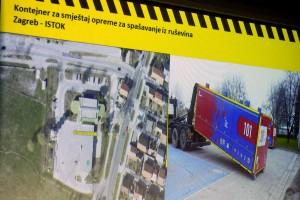 GRAD ZAGREB: Ured za upravljanje u hitnim situacijama predstavio opremu za civilnu zaštitu