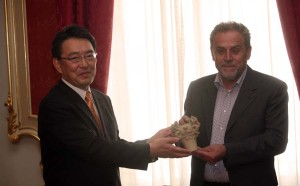Gradonačelnik Milan Bandić primio je izaslanstvo japanskog Grada Tokamachija