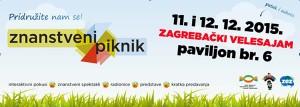 Znanstveni piknik u prosincu u Zagrebu