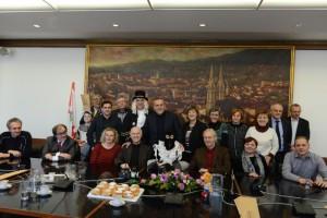 Samoborski fašnički likovi kod gradonačelnika