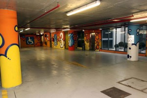 Grafiti uljepšali javnu garažu na Kvaternikovom trgu