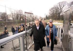 FOTO/VIDEO: otvoren pješački most i Botanički vrt za posjetitelje
