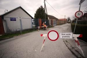 Privremena regulacija prometa Marohnićeva