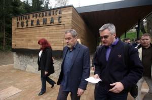 Bandić obišao radove na uređenju ljetne pozornice Tuškanac i Dubravkin put