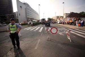 Privremena regulacija prometa u Medulićevoj