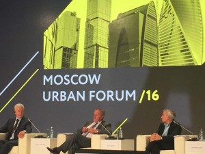 Delegacija Grada Zagreba na Urbanističkome forumu u Moskvi