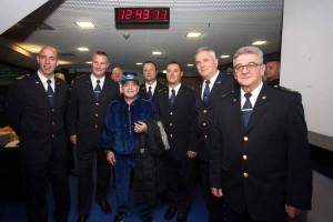EKSKLUZIVNO/FOTO: Maradona stigao u zagrebačku Arenu i slikao se s klapom Sveti Juraj