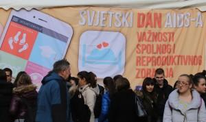 Zagreb: Obilježen Svjetski dan AIDS-a
